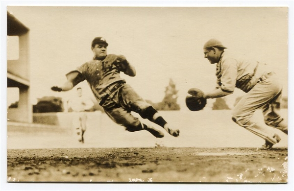 1927 Babe Ruth Silver Gelatin Photo