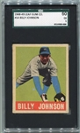 1948-49 Leaf #14 Billy Johnson New York Yankees SGC 60