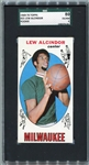 1969-70 Topps Basketball #25 Lew Alcindor Rookie Card SGC 80