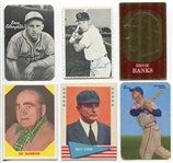1940s-70s Type Lot of 11 Different Issues w/HOFers