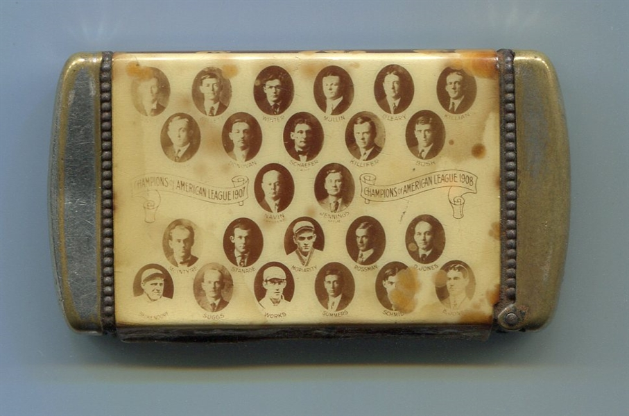 1908 Detroit Tigers Composite Photo Match Safe