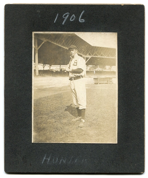 1906 Newt Hunter Baltimore Orioles Cabinet Photo