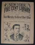 1894 New York Five Cent Library Magazine w/Yale Murphy on the Cover