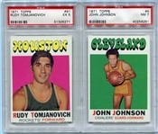 1970s Topps Basketball and Icee Bear Cards