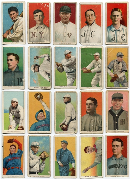 T206 Lot of 152 Different w/HOFers, Southern Leaguers, Variations and more!