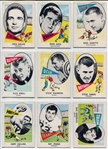 1961 Nu-Card Football Lot of 33 Different