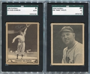 Five Card Type Lot 1939-1951