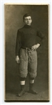 Circa 1906/07 Football Cabinet Photo George C. Wahl Madison High School Wisconsin