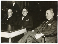 1924 Milwaukee Trial Wire Photo of Charles Comiskey During Joe Jackson Trial