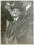 1921 Keystone Wire Photo of Barney Dreyfuss Owner of The Pirates