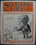 1920's Sporting Life Advertising Poster