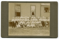 Circa 1880s Cabinet Photo of Baseball Players