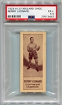 V137 Willard Chocolate Benny Leonard PSA 5.5