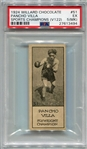 V122 Willard Chocolate #51 Pancho Villa PSA 5MK