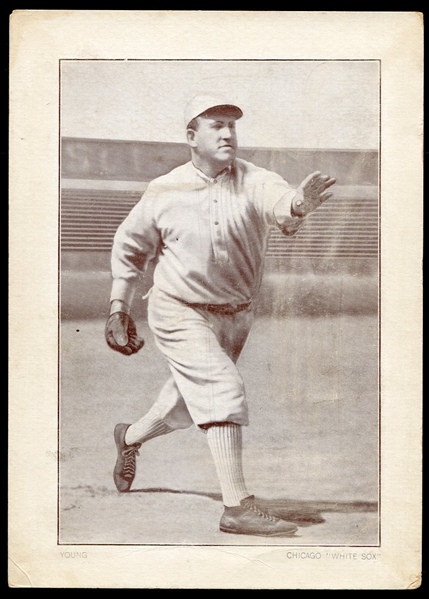 1910-12 Plow Boy Tobacco Cabinet Irv Young Chicago White Sox