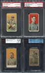 1909-1933 Tobacco & Caramel Type Lot of 11 Different All Graded.
