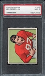 1950 Bowman Football #107 Leo Nomellini San Francisco 49ers PSA 7