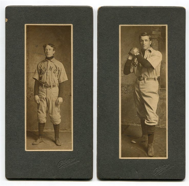 1902 Bloomsburg State Normal School Baseball Cabinets