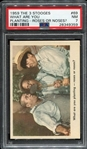 1959 Fleer The 3 Stooges #69 What Are You Planting-Roses or Noses? PSA 7