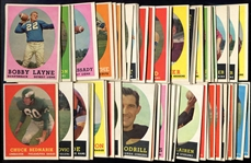 1958 Topps Football 150 Assorted With Stars Most Ex-Exmt