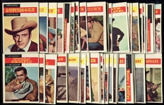 1958 Topps TV Westerns Near Set 62 of 71