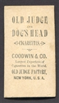 N245 Dogs Head Cigarettes Actress Hatch