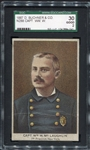 N288 Police Inspectors & Fire Captains William W. McLaughlin 1st Precinct New York SGC 30
