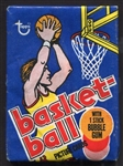 1977 Topps Basketball Unopened Wax Pack
