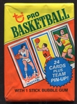 1980-81 Topps Basketball Unopened Wax Pack