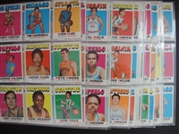 1971-72 Topps Basketball Lot of 144 Assorted Most Ex/Exmt