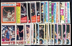 1970s/early 80s Basketball Lot of 100+