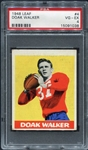 1948 Leaf #4 Doak Walker Rookie Card PSA 4