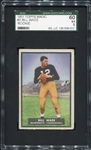 1951 Topps Magic #2 Bill Wade Rookie Card SGC 60