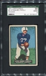 1951 Topps Magic #4 Babe Parilli Rookie Card SGC 30