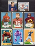 1950s-1970s Football Card Lot of 24 Different w/HOFers