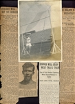 1909 Joe Horner Photo & Articles University of Michigan Track Star