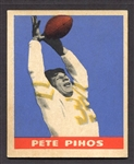 1949 Leaf Football #28 Pete Pihos Philadelphia Eagles EX+