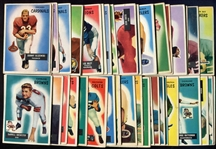 1955 Bowman Football Lot of 51 Assorted Most G-VG