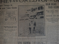 1916 Honus Wagner Sports Page