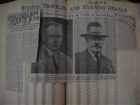 1910s Scrapbook of Salem D. Charles Boston Street Commissioner