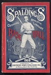 1909 Spaldings Base Ball Guide