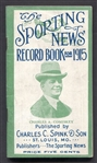 1915 Sporting News Record Book