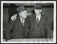 1940 Ty Cobb & Connie Mack Photograph