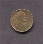 1910 Lincoln Cent AU/BU Brown Red