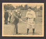 R421 1948 Swell Babe Ruth Story #26 Babe Ruth - William Bendix