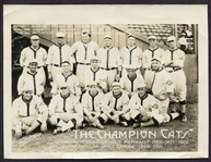"1923 Ft. Worth Cats Photo ""The Champion Cats"""
