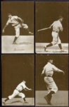 PC765-2 1907 Chicago Cubs Dietsche Postcards Complete set of 15