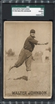 PC796 Sepia Postcard Walter Johnson SGC 35