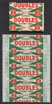1951 Topps Red Back Unopened Pack & Wax Wrapper