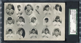 1913 Portland Duffs RPPC w/Hugh Duffy SGC 30 The Only One Confirmed!